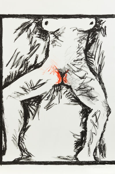 Komar & Melamid, '7 prints from Peace I', 1986