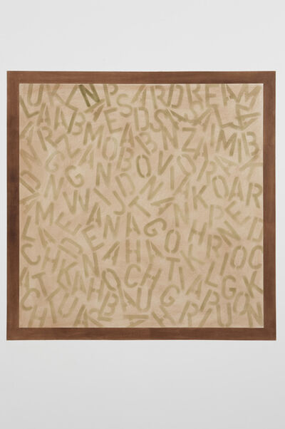 David Tremlett, 'Location Drawing', 2008