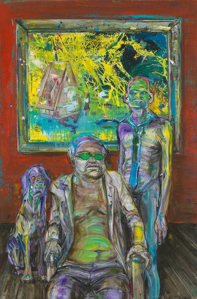 Undine Bandelin, 'Der Patron (the patron)', 2019
