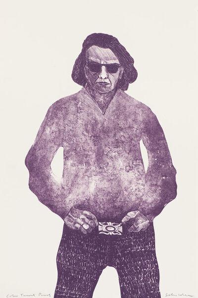 Fritz Scholder, 'Self Portrait', 1971