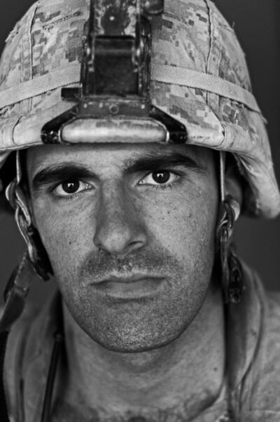 Louie Palu, 'U.S. Marine Lt. Jack Treptow, age 25, Garmsir, Helmand, Afghanistan', 2008
