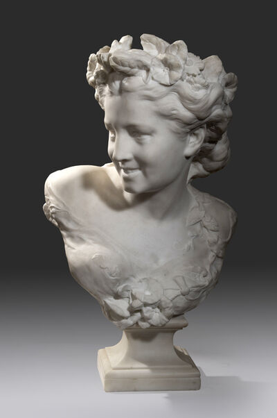 Jean-Baptiste Carpeaux, 'The Spring n°1, also named Bust of Flore', ca. 1880