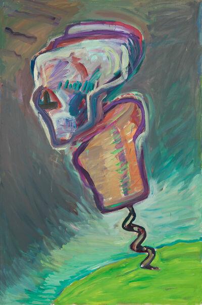 Maria Lassnig, 'Korkenziehermann (Tod)', 1986/1987