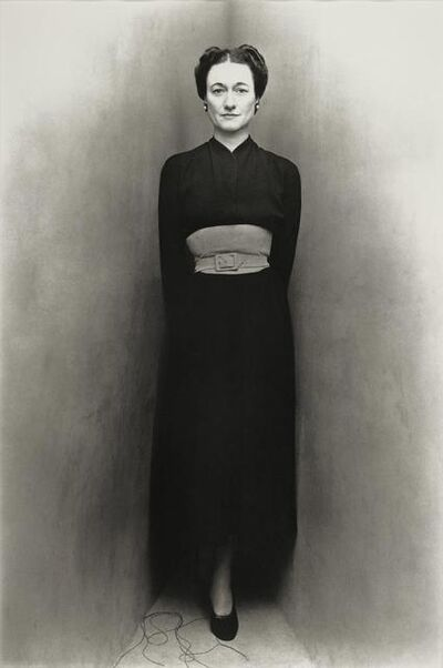Irving Penn, 'Duchess of Windsor, New York, July 14, 1948', 1948