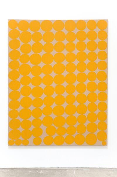 Antonio Ballester Moreno, 'Dos líneas ascendentes y convergentes entre las que había dispuesto pequeños cubos que representan un paisaje de L'Éstanque', 2015