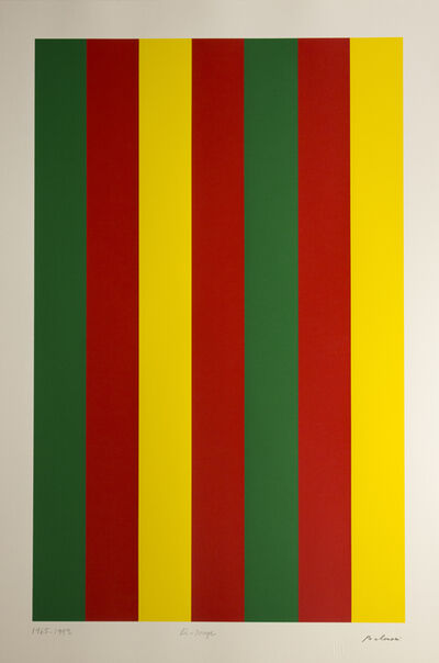 Guido Molinari, 'Bi -rouge', 1965