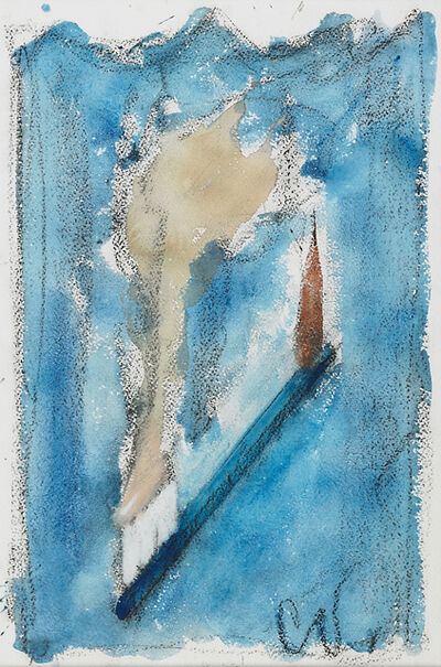 Claes Oldenburg, 'Toothbrush Overboard', 1990
