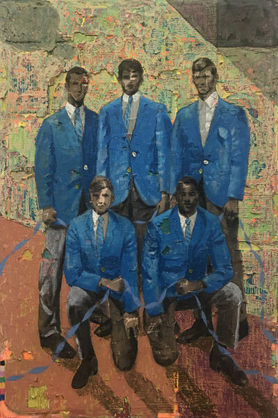 Derek Fordjour, 'Two More Years', 2018