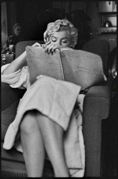 Elliott Erwitt, ' Marilyn Monroe, New York', 1956
