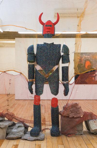 Curtis Talwst Santiago, 'The Jab Jab Knight', 2020