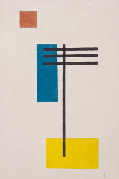 Lajos Von Ebneth, 'Sans titre', 1951