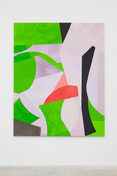 Sarah Crowner, 'Post Jacaranda (sliced)', 2019