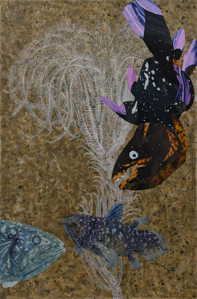 Yang Mao-Lin, 'Wanderers of the Abyssal Darkness.Coelacanth L1901', 2019