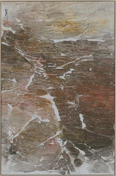 Liu Kuo-sung 刘国松, 'Sound of Melting Snow - Tibetan Suite Series No.57', 2004
