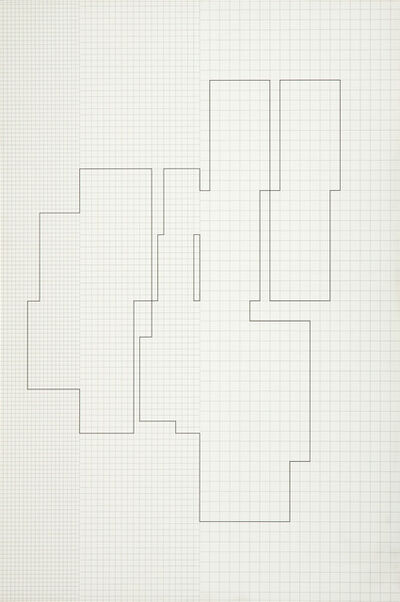 Attila Kovács, 'koordination p3-14-1975, 3rd distribution', 1978