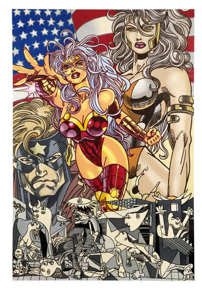 Erró, 'MISS AMERICA', 1997