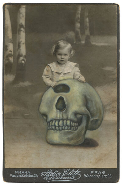 Jana Paleckova, 'Untitled (One Eyed Skull)', 2016