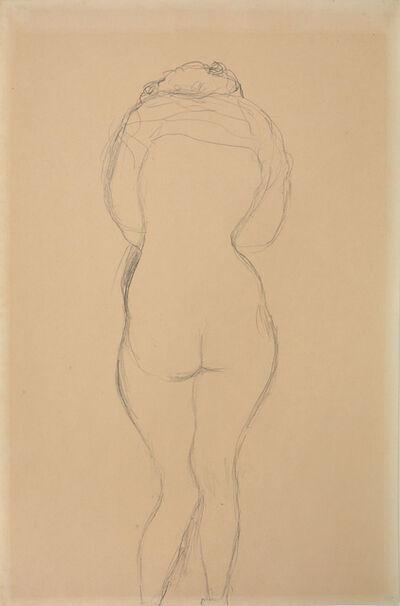 Gustav Klimt, 'Back Half Naked', ca. 1911/1912