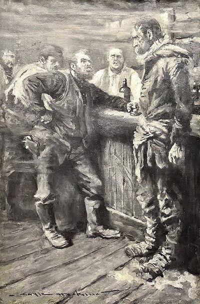 Gale Porter Hoskins, 'Pub Scene', 20th Century