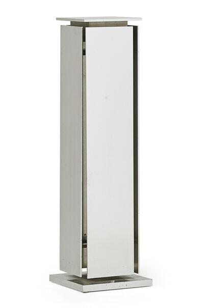 Claude de Muzac, 'Pedestal (prototype)', 1967