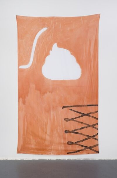 Anna K.E. & Florian Meisenberg, 'Late Checkout (orange)', 2015