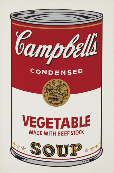 Andy Warhol, 'Vegetable, from Campbell's Soup I', 1968