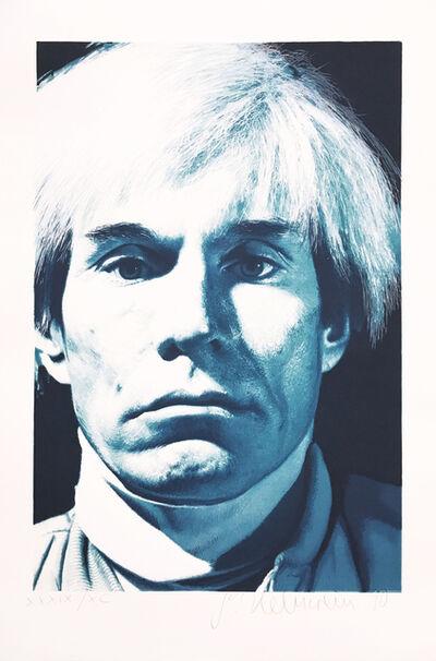 Gottfried Helnwein, 'Portrait of Andy Warhol', 1990