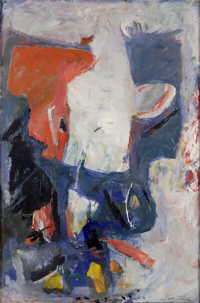 Paul Burlin, 'White Phantom', 1961