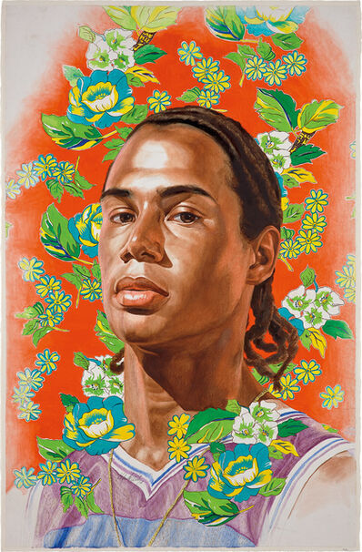 Kehinde Wiley, 'Michael Borges Study (World Stage: Brazil)', 2008