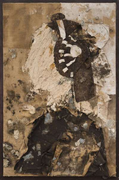 Manolo Valdés, 'Retrato con diadema blanca', 2016-2017