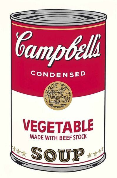 Andy Warhol, 'Vegetable Made with Beef Stock, from the Campbell's Soup I Portfolio', 1968