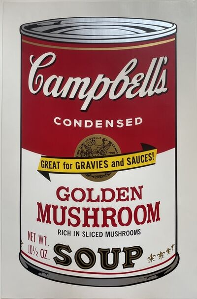 Andy Warhol, 'Campbell's Soup II, Golden Mushroom F&S II.62', 1969