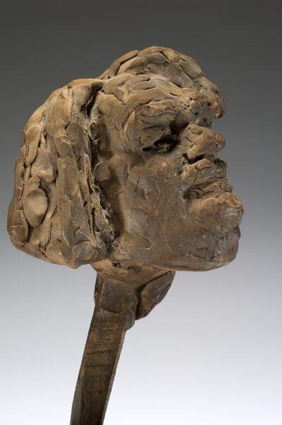 Auguste Rodin, 'Balzac, étude définitive pour la tête, variante (Balzac, final study for head, variant)', c. 1897