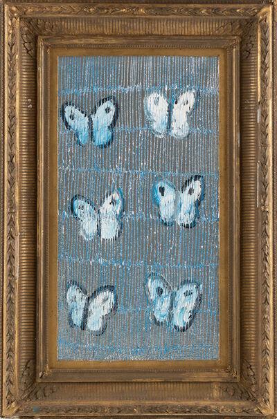 Hunt Slonem, 'Hunt Slonem Original Blue Ascension Butterfly Painting Contemporary Art ', 2019
