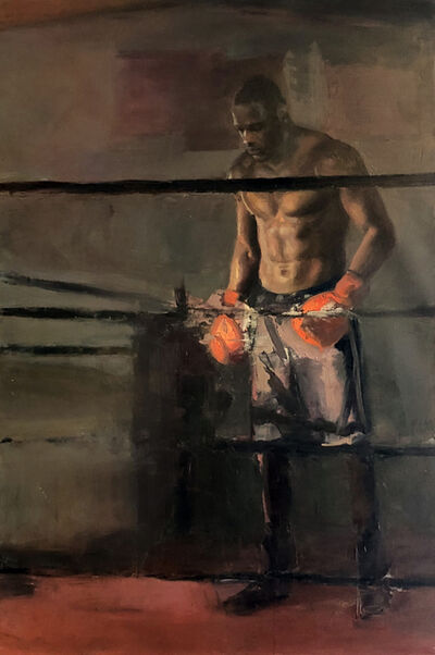 Caleb O'Connor, 'Deontay Wilder in the Ring', 2018