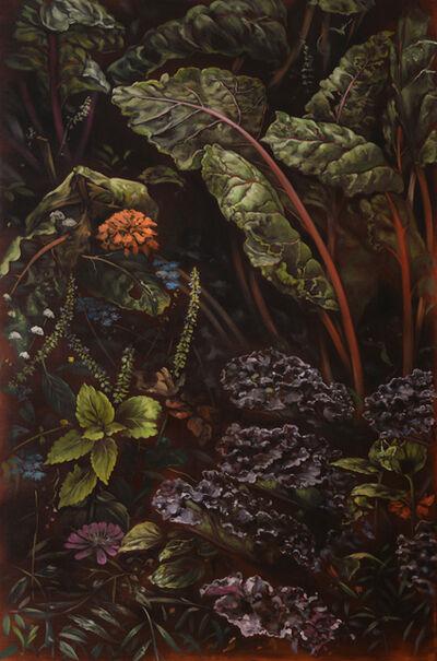 Helena Parada-Kim, 'Chard and cabbage ', 2018