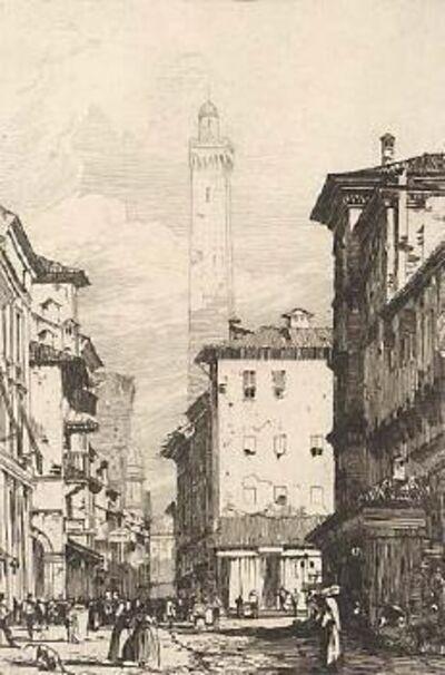 Richard Parkes Bonington, 'Bologne', 1826-1827