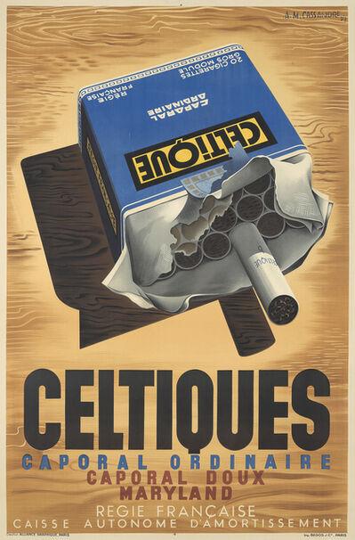 A.M. Cassandre, 'Celtique', 1934