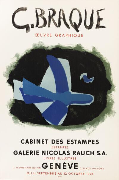 Georges Braque, 'Cabinet des Estampes', 1958