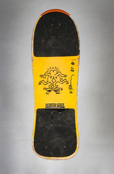 Keith Haring, 'Untitled ('Skateboard Lovers' - Knokke)', 1987