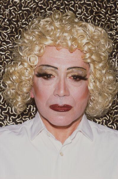 Unglee, 'Autoportrait aux paupières dorées'