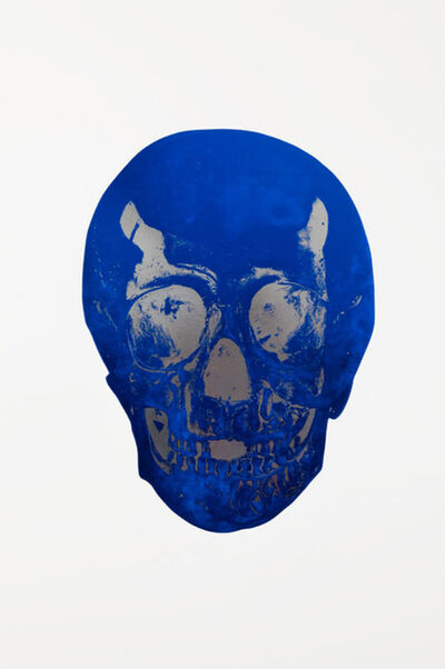 Damien Hirst, 'The Dead - Westminster Blue/Silver Gloss', 2009