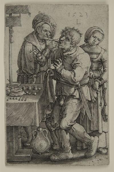 Lucas van Leyden, 'The Dentist.', 1523