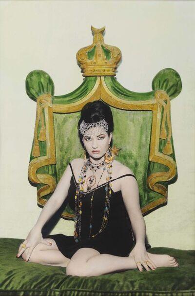 Youssef Nabil, 'Natacha & Crown, Cairo', 2000