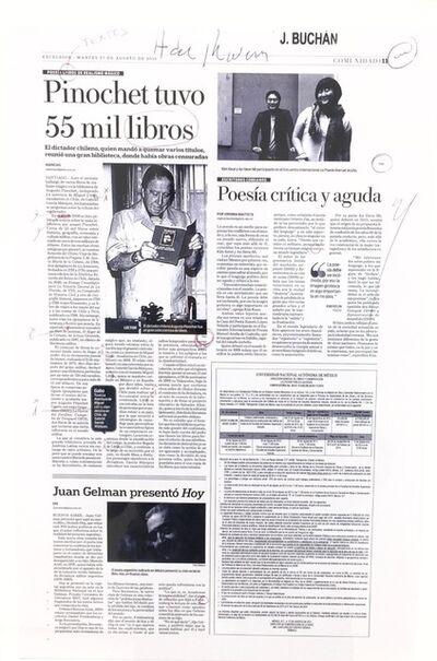 Carlos Amorales, 'Quinta Nota Excelsior', 2013