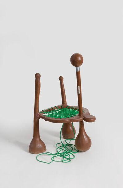 Zhou Yilun 周轶伦, 'Lounge Chair (Brown)', 2019