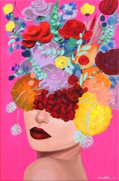 Sally K, 'Pink Pop', 2019