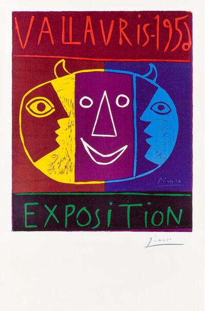 Pablo Picasso, 'VALLAURIS – 1956 / EXPOSITION', 1956