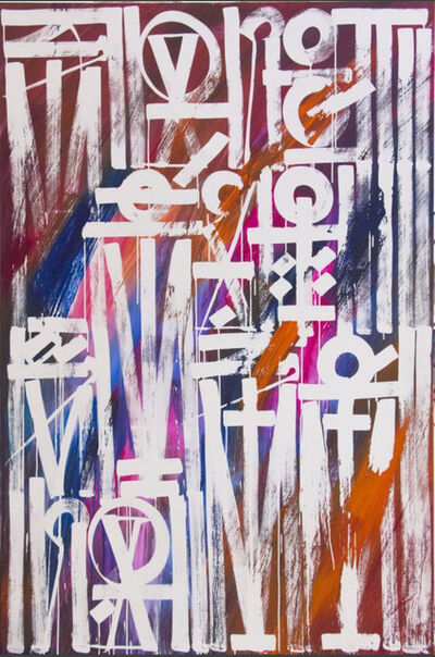 RETNA, 'Slang Them Colours', 2016