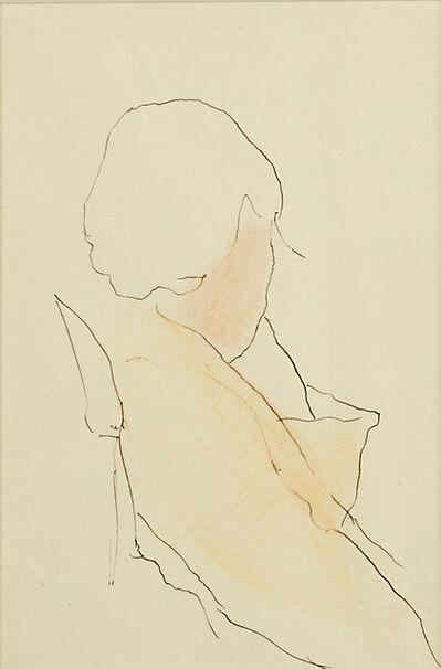 Joseph Stella, 'Untitled (Sketch of a Woman)'